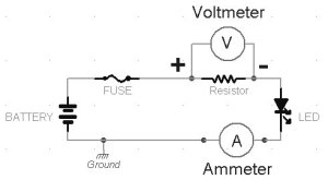Ammeter Wiring Diagram  Somurich
