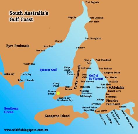 Browns Beach, South Australia
