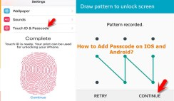 How to Add Passcode on iOS and Android