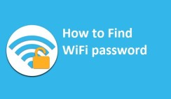 How to find wifi password ?