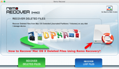 How to Recover Mac OS X Deleted data