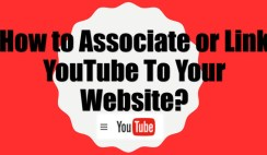 Associate YouTube Account to Website