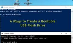 4 Ways To Create Bootable USB Flash Drive