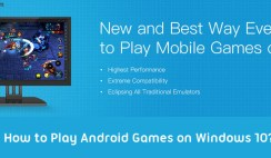 How to Play Android Games on Windows 10