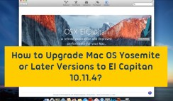 How to Upgrade Mac OS Yosemite to El Capitan 10.11.4