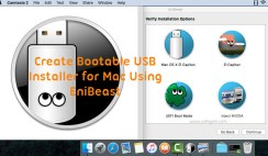 How to Create Bootable USB Installer For Mac Using UniBeast