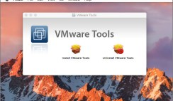 How to Install VMware Tools on macOS Sierra?