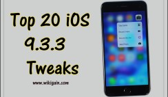Top 20 iOS 9.3.3 Tweaks