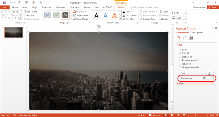 How to design a custom slide in PowerPoint?
