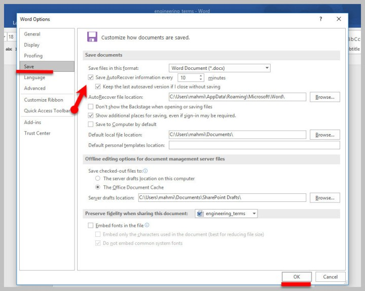 How to Recover Unsaved Files in Microsoft Office Word 2016