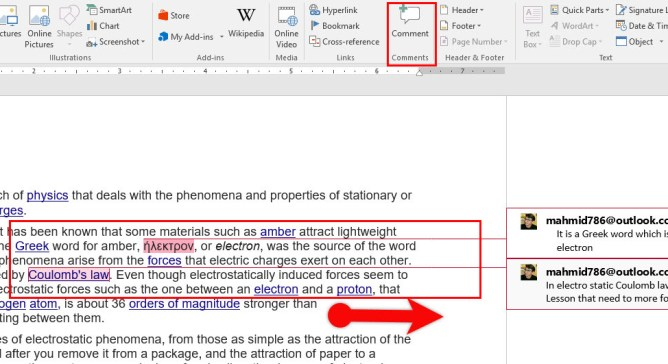 Insert Screen-shot or Screen Clipping in Microsoft Word 2016