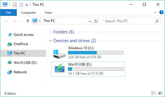 How to Create UEFI Bootable USB for Windows 10 - Windows 10 UEFI