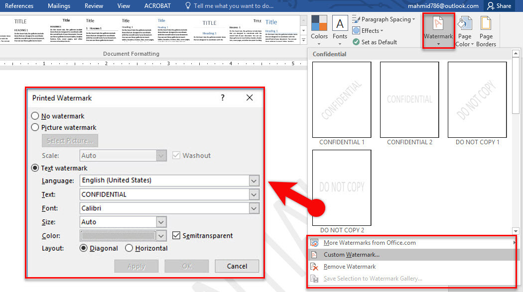 how to design page background in microsoft word 2016 wikigain