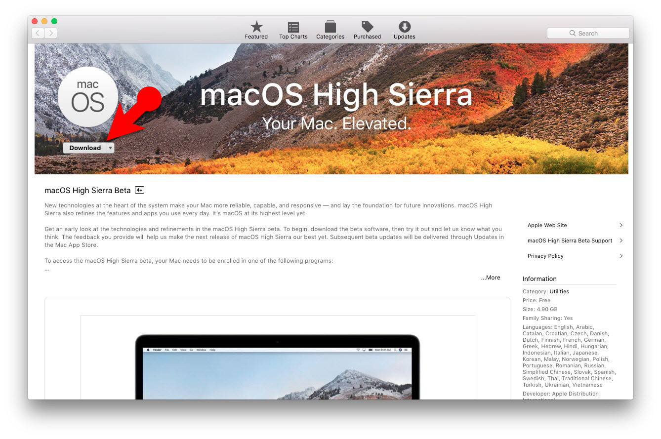 How to Download macOS High Sierra for Free