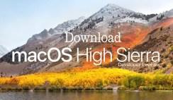 Download macOS High Sierra 10.13 Free