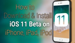 How to Download and Install iOS 11 Beta on iPhone iPad iPod