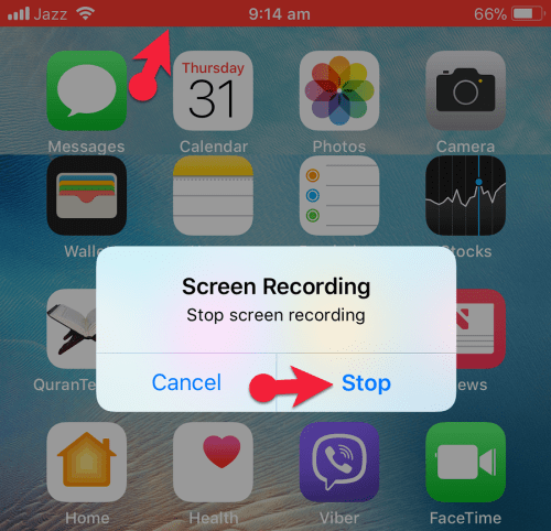 How to Record IOS Device Screen without Using any App only on [IOS 11 Beta]