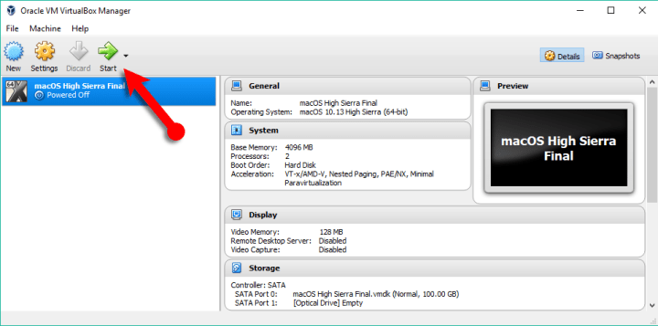 How to Fix macOS High Sierra Screen Resolution on VirtualBox