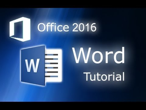 Essential Package Training of Microsoft Word 2016