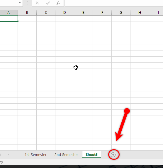How to work with Multiple Worksheets in Microsoft Excel 2016