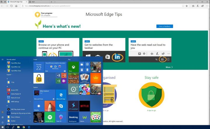 Windows 10 Interesting Features - Wikigain