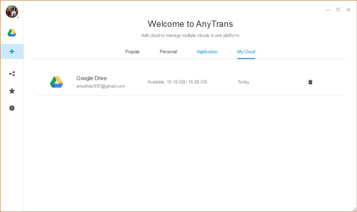 AnyTrans for Cloud - Manage Your All Cloud Drives from One Place