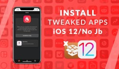 "Install Tweaked Apps on iOS 12/11 for Free ""New Update"""