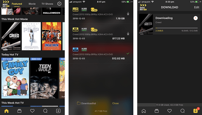 movie box pro vip apk android