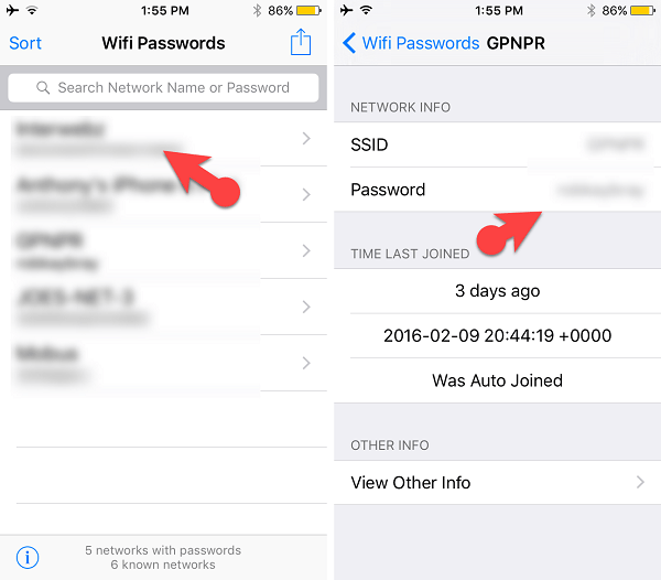 How to Find Wifi Password on iPhone With Jailbreak