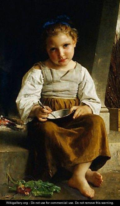 The Porridge William Adolphe Bouguereau WikiGallery
