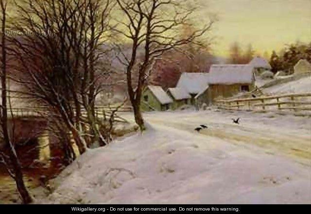 A Winters Morning - Joseph Farquharson
