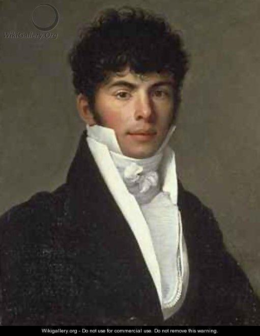 Bust Portrait of Amedee Auguste Perier 1785-1831 - Jean Baptiste Francois Desoria