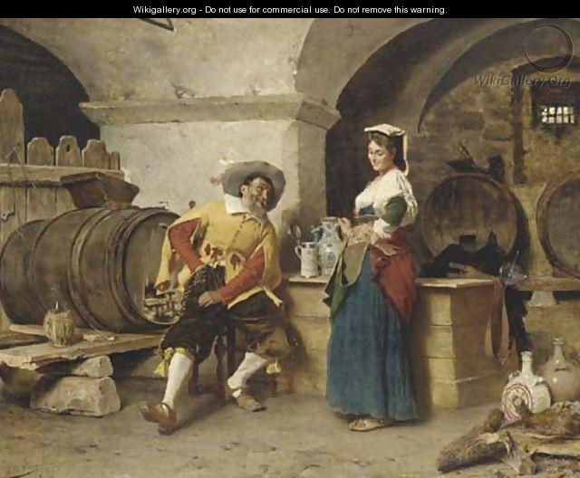 In the Wine Cellar - Tito Conti