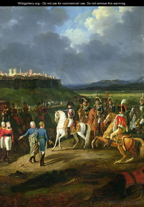 The English Prisoners at Astorga Being Presented to Napoleon Bonaparte - Charles Emile Hippolyte Lecomte-Vernet