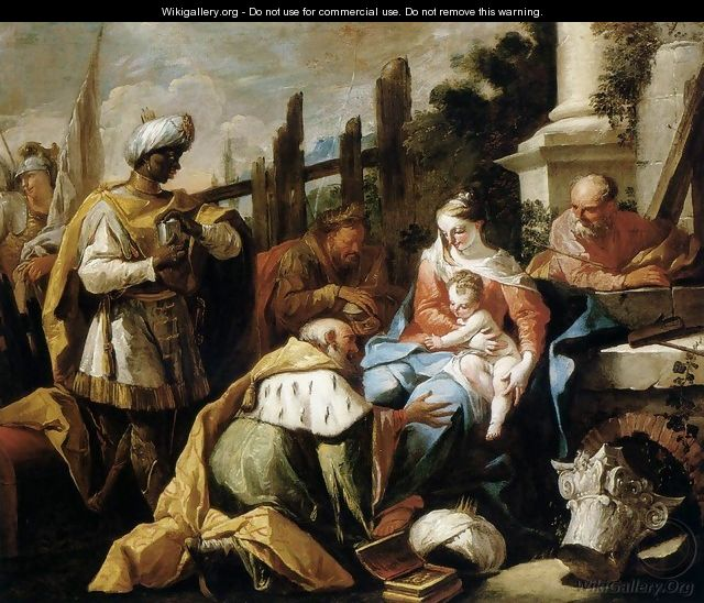 Adoration of the Magi 1718 - Gaspare Diziani