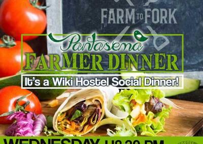 Wiki Hostel Pantasema FARMER DINNER