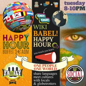 WIKI BABEL HAPPY HOURS EXPERIENCE