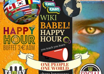 Wiki Hostel BABEL Language Happy Hour