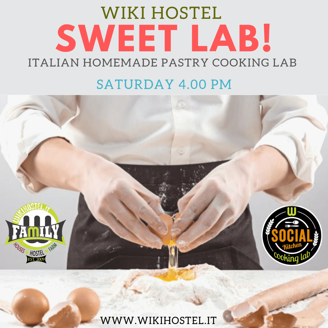Wiki Hostel 'SWEET LAB' cooking class