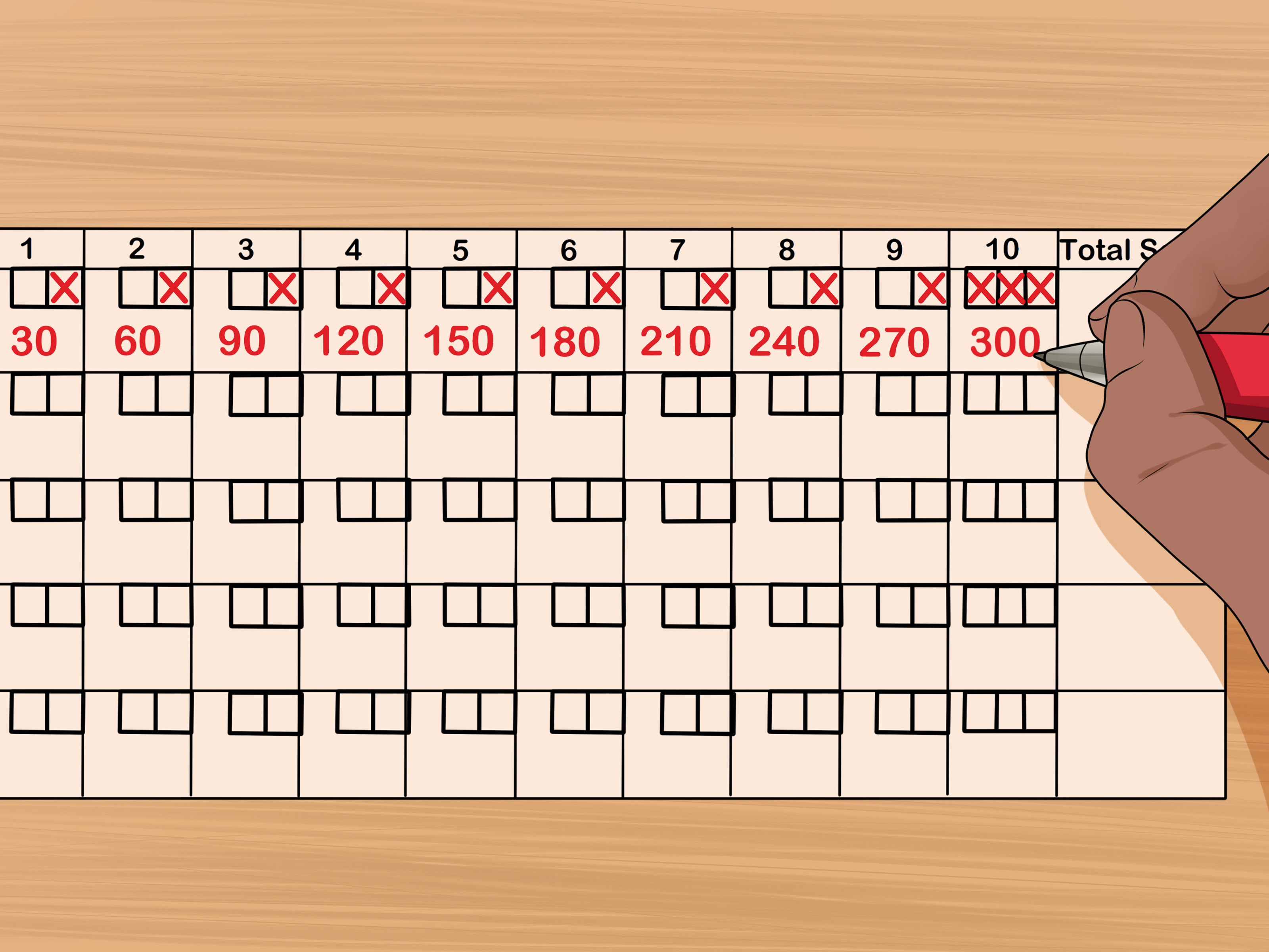 The Best Printable Bowling Score Sheet