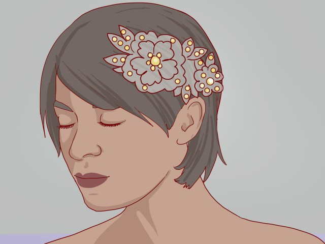 3 ways to style short hair for girls - wikihow