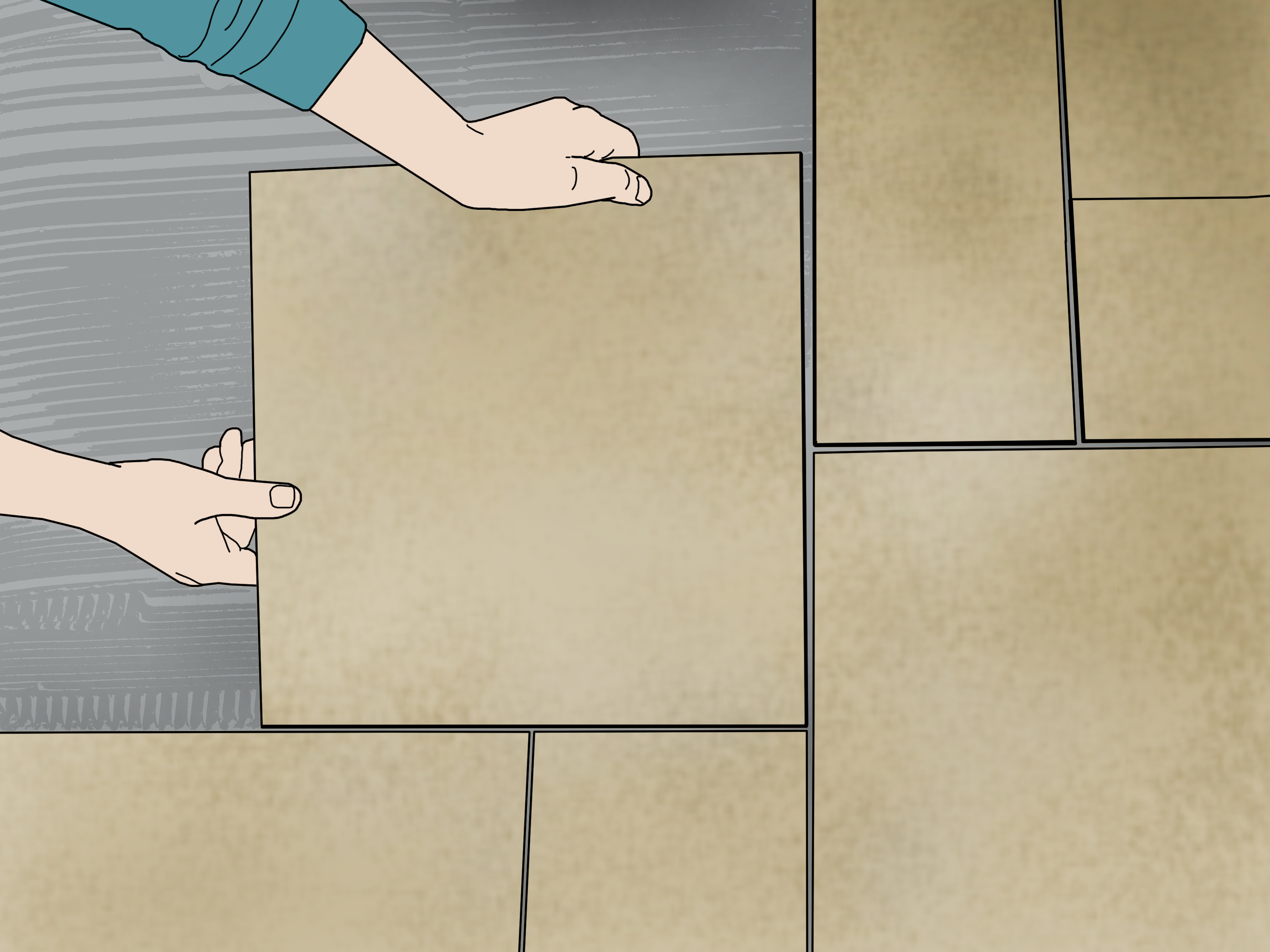 install ceramic tile on sub floor