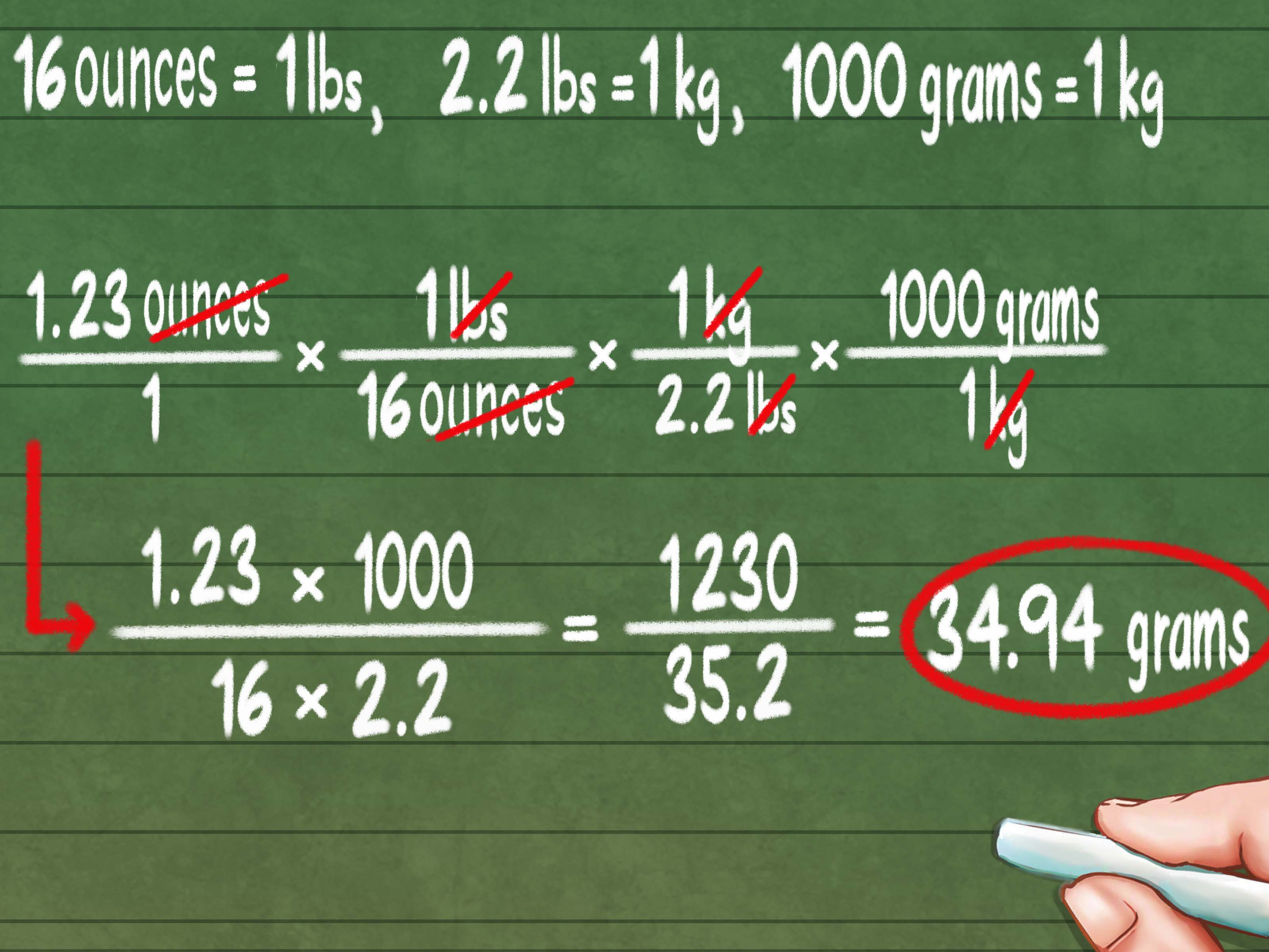 3 Ways To Convert Ounces To Grams