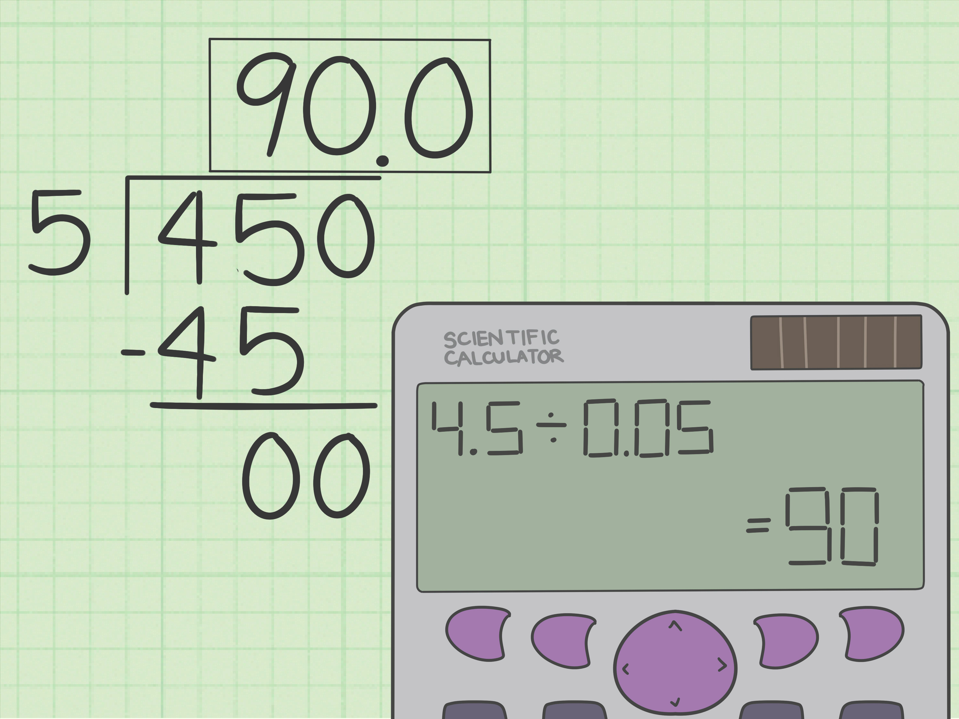 How To Divide Decimals 8 Steps With Pictures
