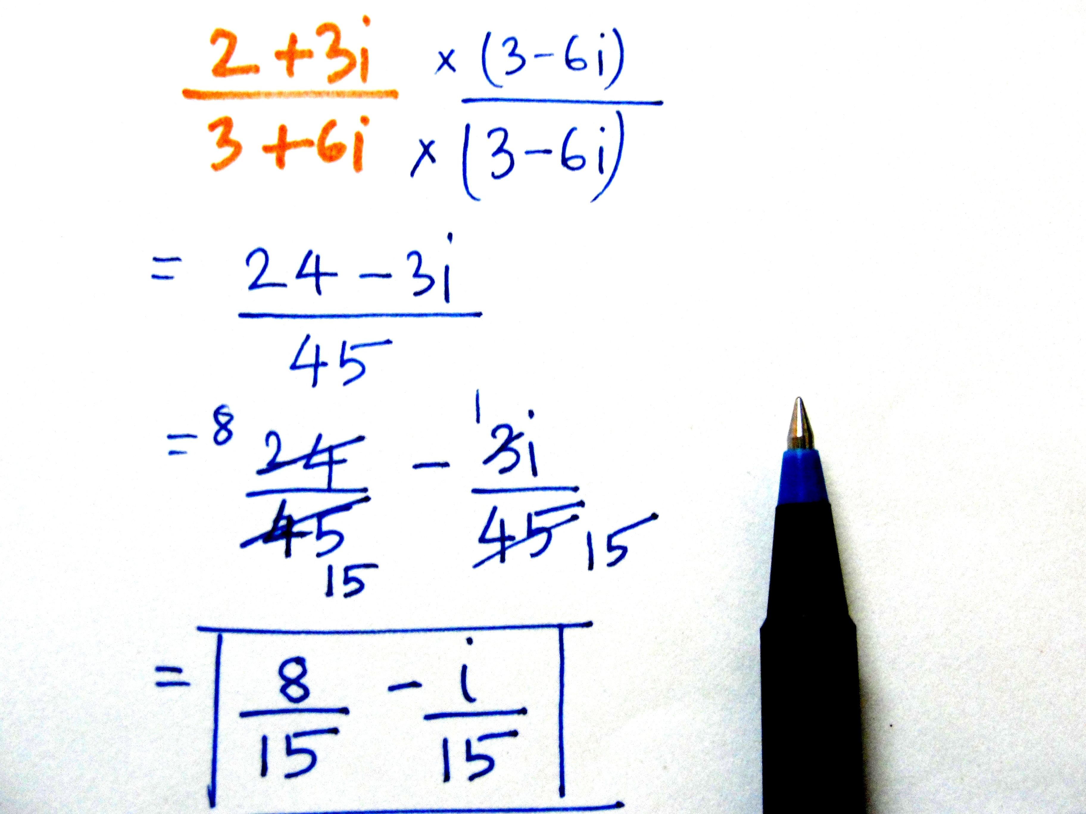 How To Divide Complex Numbers 8 Steps With Pictures