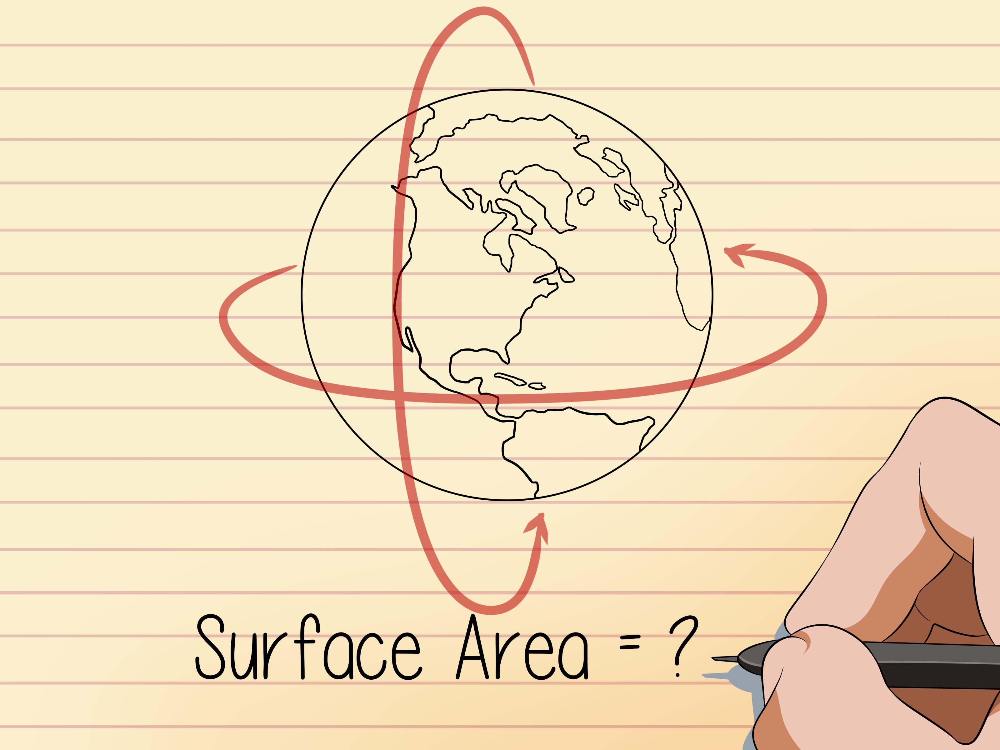 How To Find The Surface Area Of A Sphere 8 Steps With