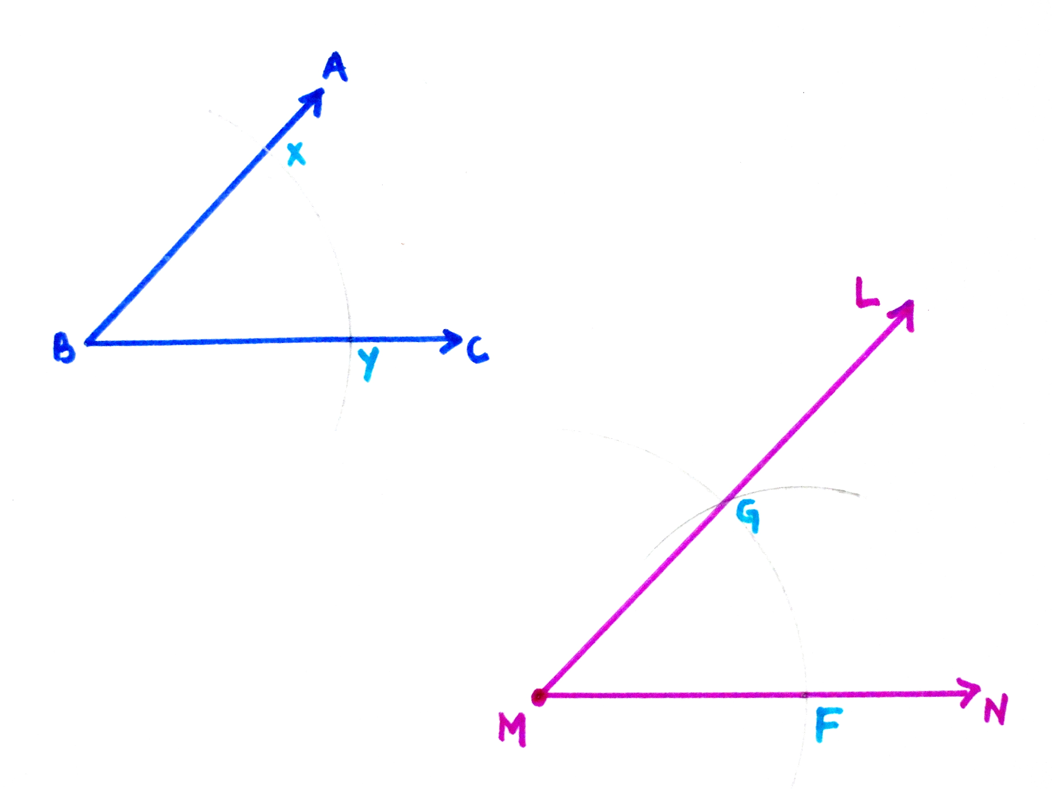 Construct Construct Congruent Angles
