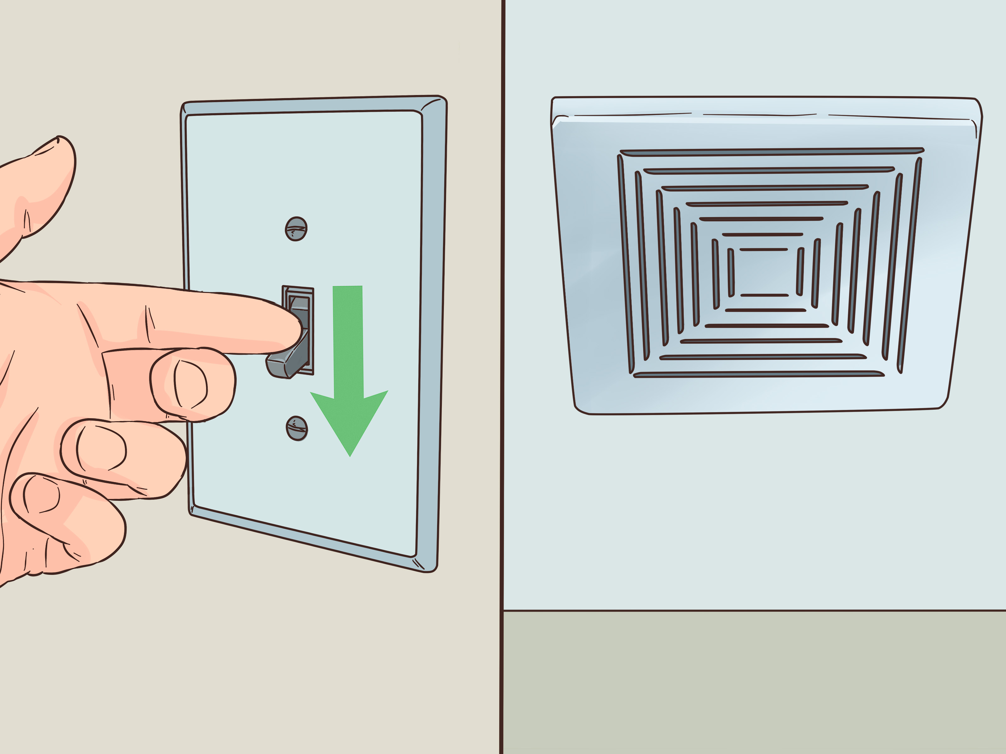 how to replace a bathroom fan with