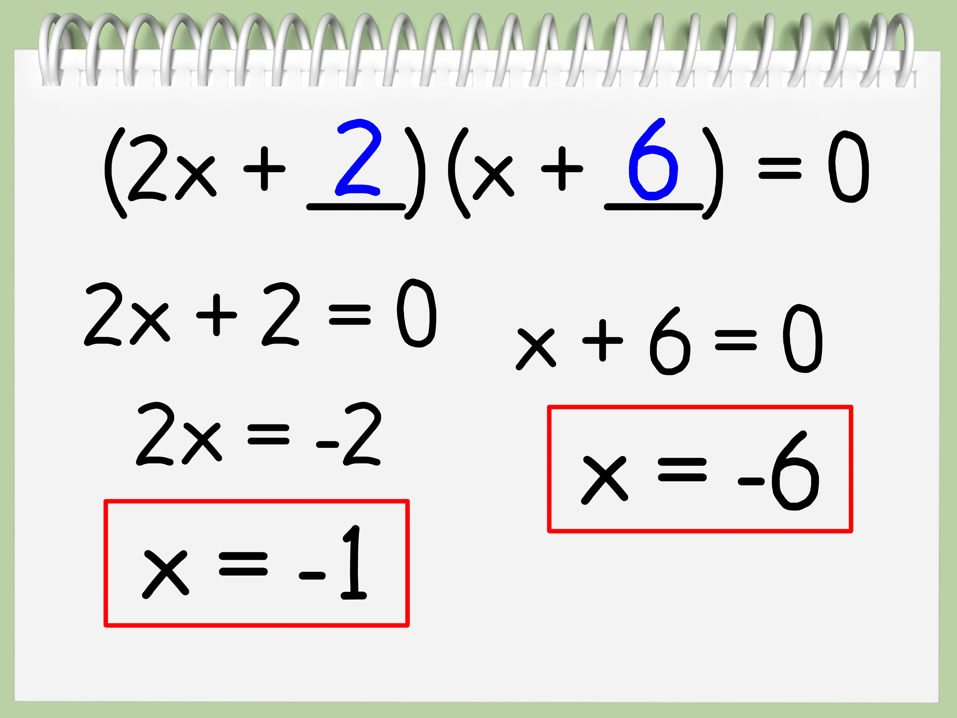 How To Find The Roots Of A Quadratic Equation With Pictures