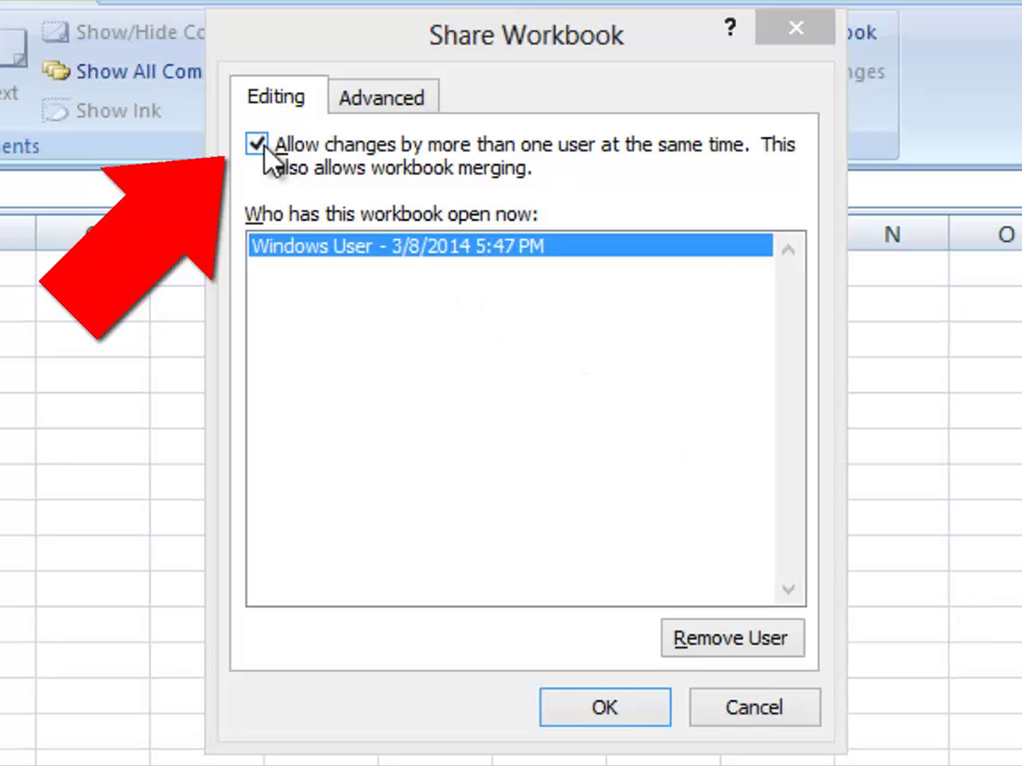 How To Unshare An Excel Workbook 5 Steps With Pictures